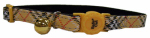 Coastal Pet Products 06714 A CMP12 Cat Collar, Adjustable, Orange Plaid, 12-In.