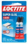 Henkel 1399963 Super Glue Liquid, 2-gm. Tube, 2-Pk.