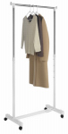 Whitmor 6024-3539 Garment Rack, Adjustable, Chrome, 17.75 x 33 x 66-In.