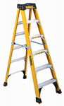 Louisville Ladder DXL3810-06 Fiberglass Step Ladder, 500-Lbs., 6-Ft.