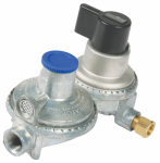 Camco Mfg 59005 RV Auto-Changeover Propane Regulator, Dual-Stage