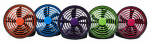 O2cool FD05003 Portable Fan, Battery or USB-Powered, 5-In.