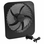 O2cool FD10002A Portable Fan, Battery or Electric-Powered, 2-Speed, 10-In.