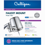 Culligan FM-25 Faucet-Mount Drinking Water Filter, Chrome