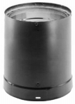 M&G Duravent 6DVL-24 DVL Wood-Stove Pipe, Black Double-Wall Stainless Steel, 6 x 24-In.