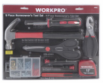 Hangzhou Great Star Indust 164664 Homeowner 's 9-Pc. Tool Set