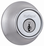 Kwikset 660 26D SMT RCAL RCS Deadbolt Lockset, Satin Chrome