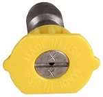 Mi T M AW-0018-0150 High-Pressure Nozzle, 15 Degrees, 3.0 Orifice, Yellow