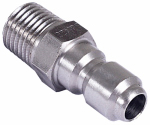 Mi T M AW-0017-0002 Pressure Washer Quick Connect Plug, 1/4 MNPT x 1/4-In.