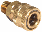 Mi T M AW-0017-0028 Pressure Washer Quick Connect Socket, Brass, 1/4 MNPT x 1/4-In.