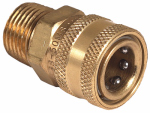 Mi T M AW-0017-0029 Pressure Washer Quick Connect Socket, Brass, 1/2 MNPT x 3/8-In.