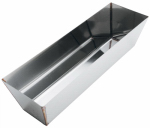 Advance Equipment Mfg 12HR Mud Pan, Contoured Stainless Steel, 12-In.