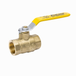 "Homewerks Worldwide 116-2-2-2 2"" Brass FPT Ball Valve"