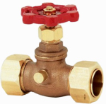 B&K 105-614NL Pipe Fitting, Stop & Waste Valve, 3/4 x 7/8-In. OD