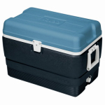 Igloo 49492 Maxcold Ice Chest, Ice Blue & White, 50-Qts.