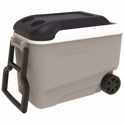 Igloo 34061 Maxcold Ice  Chest, Wheeled, Ice bluee & White, 40-Qts.  order now enjoy big discount
