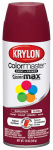 Krylon Diversified Brands K05211802 Colormaster Spray Paint, Indoor/Outdoor Use, Gloss Burgundy, 12-oz.