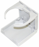 Unified Marine 50091012 Marine Drink Holder, White Nylon