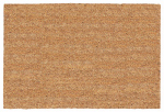 U S Cocoa Mat 31562 Doormat, Tan Natural Coir, Vinyl Back, 18 x 30-In.