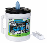 Sellars Wipers & Sorbents 5520801 Blue Shop Towels, Big Grip Dispenser Bucket, 200-Ct.