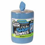 Sellars Wipers & Sorbents 5520701 Blue Shop Towel Refill For Big Grip Dispenser Bucket, 200-Ct.