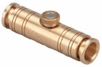 Orbit Irrigation Products 10121W Slip Lok Nozzle For Outdoor Mist Cooling Systems, Brass, 3/8-In.