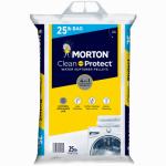Morton Salt F124990000G 25LB Clean/Prot Pellet