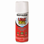 Rust-Oleum 267970 LeakSeal Spray Coating, White, 12-oz.
