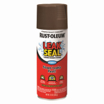 Rust-Oleum 267976 LeakSeal Spray Coating, Brown, 12-oz.