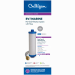 Culligan RV-800 RV Pre-Tank In-Line Water System Filter With 3/4-In. Hose