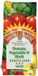 Kellogg Supply 8648 Tomato & Vegetable Fertilizer, 4-6-3, 4-Lbs.