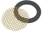 Brass Craft Service Parts SF0097X Faucet Aerator Screen & Washer