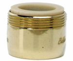 Brass Craft Service Parts SF0324 Faucet Aerator, Low Flow, Polished Brass, Dual Thread, 15/16 & 55/64-In. x 27-Thread
