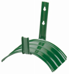 Fiskars Garden Watering 8115 Hose Hanger, Holds 100-Ft., Steel With Rust-Resistant Green Enamel Finish