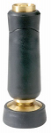 Fiskars Brands 528 Hose Nozzle, Twist, Solid Brass, Full-Size