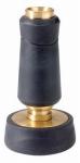 Fiskars Garden Watering 529 Hose Nozzle, Twist, Solid Brass, Mid-Size