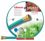 Fiskars Garden Watering 15012075 15 Series Garden Hose, Medium Duty, 4-Ply Reinforced Vinyl, 1/2-In. x 75-Ft.