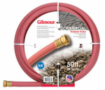 Fiskars Garden Watering 18058050 18 Series Hot Water Hose, 180 Degree, Red Rubber, 5/8-In. x 50-Ft.