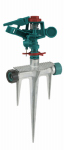 Fiskars Brands 200GMSM Polymer Head Impulse Sprinkler On Metal Spike Base