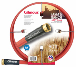 Fiskars Brands 29058090 29 Series Farm Hose, Industrial Strength, 6-Ply, Red Cover, 5/8-In. x 90-Ft.