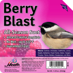 Heath Manufacturing DD-15 Suet Cake, Berry Blast, 11.25-oz.