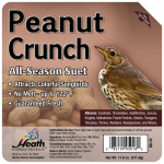 Heath Manufacturing DD-18 Suet Cake, Peanut Crunch, 11.25-oz.