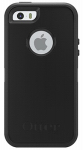 Nite Ize 77-33322P1 OtterBox iPhone 5/5s/SE Case, Black