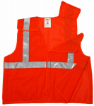 Tingley Rubber V70529.4X-5X 4XL/5XL ORG Safe Vest