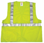 Tingley Rubber V70622.4X-5X 4XL/5XL GRN Safe Vest