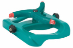 Fiskars Garden Watering 184SPB Sprinkler, Square Pattern, Sled Base, Covers 50-Ft.