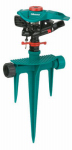 Fiskars Garden Watering 200GMSP Impulse Sprinkler, 5,800-Sq. Ft. Coverage, Polymer & Stainless Steel