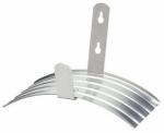 Fiskars Brands 8215 Garden Hose Hanger, Aluminum, Holds 100-Ft.