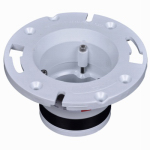 Oatey 43539 PVC Pipe Fitting,Closet Flange, PVC, 4-In.