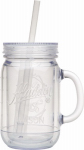 Pmi Worldwide 10-01494-005 Classic Insulated Mason Jar Tumbler, 20-oz.